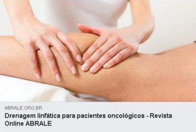"""A drenagem linfática pode melhorar o desconforto sentido pelos pacientes oncológicos causado pelos linfedemas e edemas. Esse tipo de """"massagem"""" pode ser iniciada em vários momentos do tratamento, contanto que sejam seguidas as orientações médicas..."""