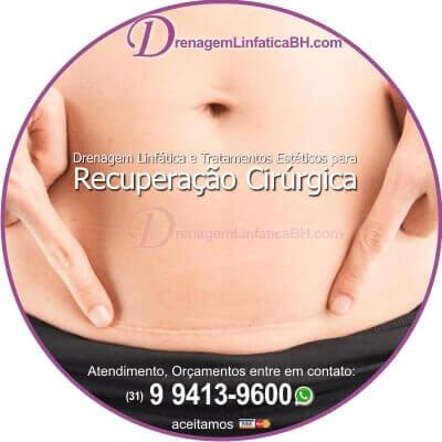 Drenagem Linfatica Pos Operatorio de Abdominoplastia
