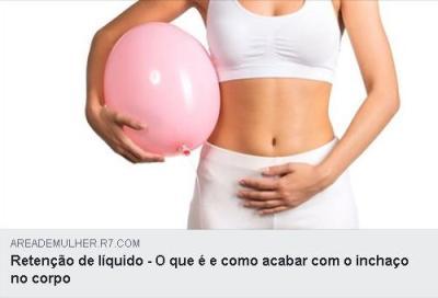 A retenção de líquido é mais comum em mulheres. Basicamente contribui para a barriga inchada e celulite, no entanto também pode ser mais grave e causar pernas e pés inchados