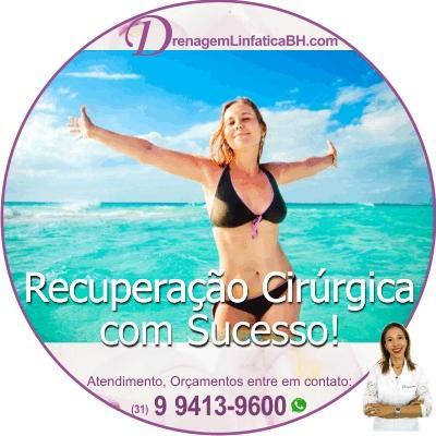 Drenagem Linfatica Manual Antes e Depois em Belo Horizonte