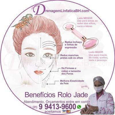 Benefícios do Rolo Jade no Rosto