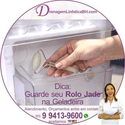 Dica do Blog da Denise: Guarde seu Rolo Jade na Geladeira ou Freezer