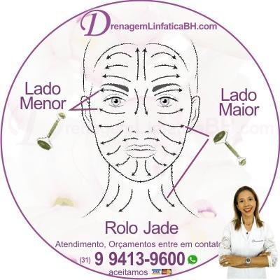 Rolo Jade - Como usar o lado menor e o lado maior