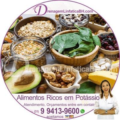 Coma alimentos ricos em potássio contra a Retenção de Líquido