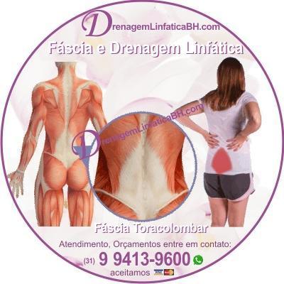A DLM também ajuda a reduzir a tensão na fáscia do corpo