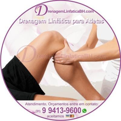 Drenagem linfática para lesões esportivas e desempenho em Belo Horizonte