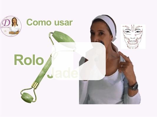 video como usar rolo jade