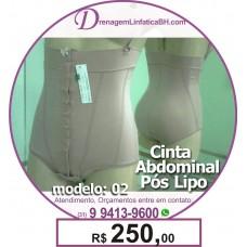 Cinta Abdominal Pós Operatório Feminina Pós Lipoaspiração
