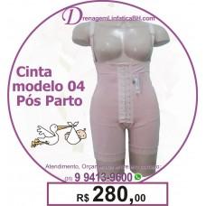 Cinta Pós Parto Cintura Alta modelo 04