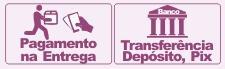 Formas de pagamento aceitas na Loja da Drenagem Linfatica BH